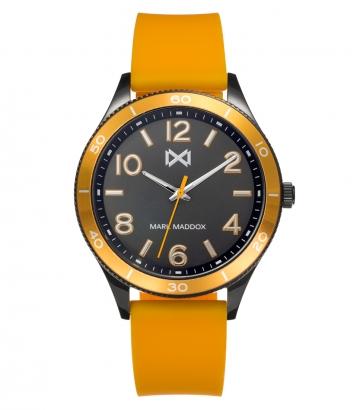Reloj Acero Ip Gris Y Aluminio Correa Sr Mm