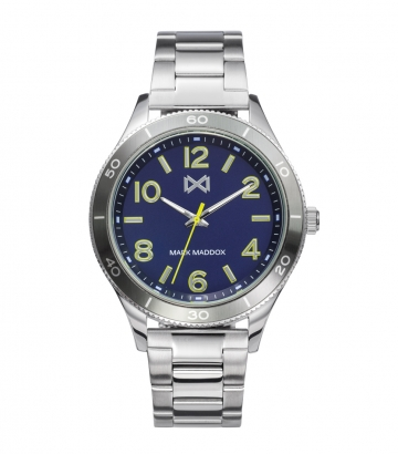 Reloj Acero Y Aluminio Brazalete Sr Mm