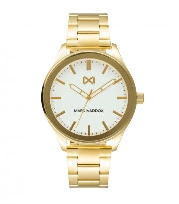 Reloj Acero Ip Dorado Brazalete Sr Mm