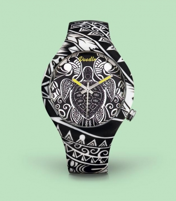 Reloj Doodle Maori Turtles