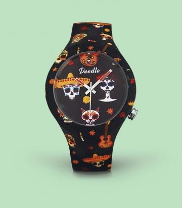Reloj Doodle Mexican Tattoo