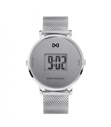 Reloj Digital Acero Brazalete Sra Mm