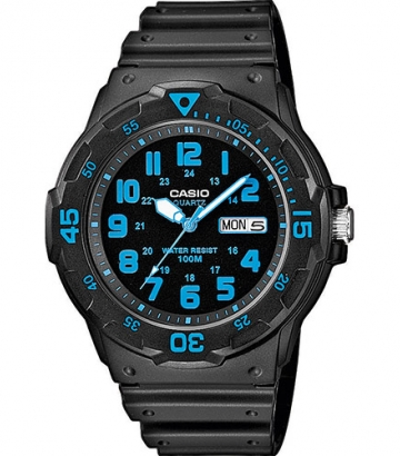 Reloj Casio Collection negro/azul