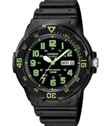 Reloj Casio Collection negro/verde