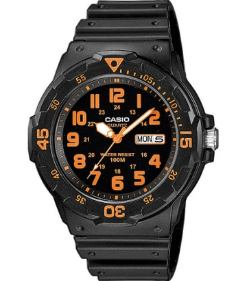 Reloj Casio Collection negro/naranja