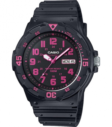 Reloj Casio Collection negro/fucsia