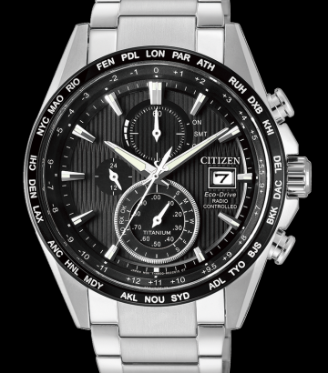 Reloj Citizen Eco Drive Super Titanium AT8154-82E