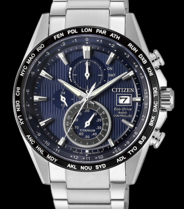 Reloj Citizen Eco Drive Super Titanium AT8154-82L