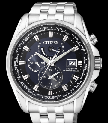 Reloj Citizen Eco-Drive Radiocontrolado  AT9030-55L