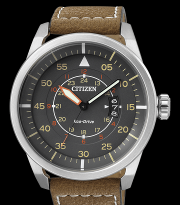 Reloj Citizen Eco Drive Aviator AW1360-12H