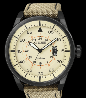 Reloj Citizen Eco Drive Aviator AW1365-19P