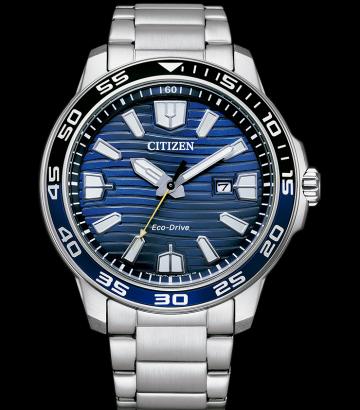Reloj Citizen Eco-Drive Acero Esfera Azul