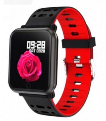 Reloj Marea Smartband Negro/Rojo B57002/1