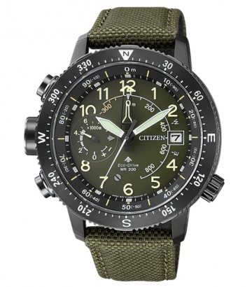 Reloj Citizen Promaster Altímetro Eco-Drive BN4045-12X