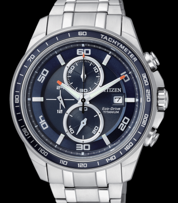 Reloj Citizen Eco-Drive Super Titanium CA0345