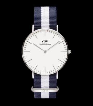 Reloj Daniel Wellington Classic Glasgow 36mm. Silver