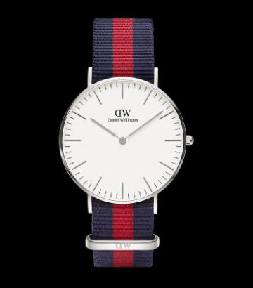 Reloj Daniel Wellington Classic Oxford 36mm. Silver