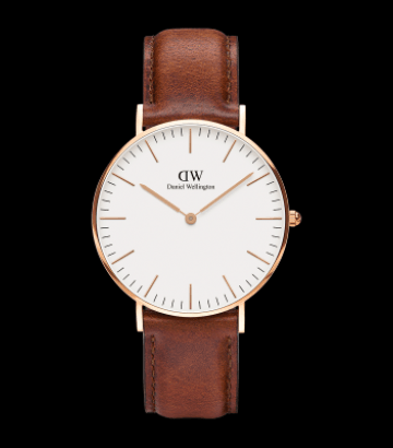 Reloj Daniel Wellington Classic St Mawes 36 mm. Rose Gold