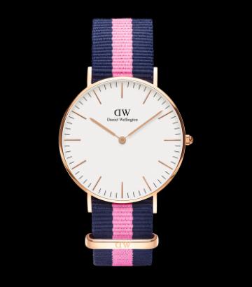 Reloj Daniel Wellington Classic Winchester 36mm. Rose Gold