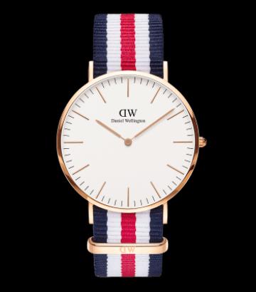 Reloj Daniel Wellington Classic Canterbury 40mm. rose gold
