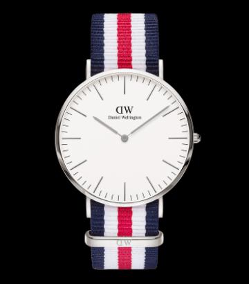 Reloj Daniel Wellington Classic Canterbury 40mm. Silver