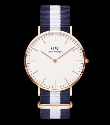 Reloj Daniel Wellington Classic Glasgow 36mm. rose gold