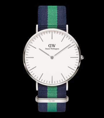 Reloj Daniel Wellington Classic Warwick 40mm. Silver