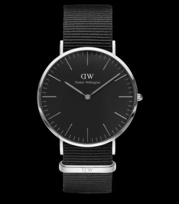 Reloj Daniel Wellington Classic Black Cornwall  40 mm.
