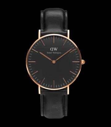 Reloj Daniel Wellington Classic Black Sheffield 36mm. 53ba096789ff