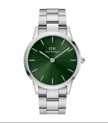 Reloj Daniel Wellington Iconic Link Emerald 40 mm.