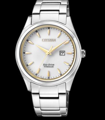 Reloj Citizen Eco Drive Super Titanium EW2470-87B