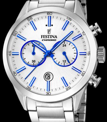 Reloj Festina Timeless Chrono Acero F16826/A
