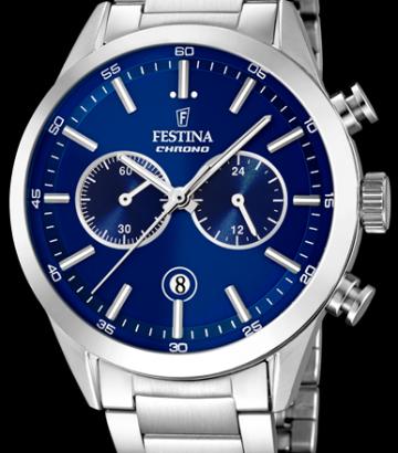 Reloj Festina Timeless Chrono Acero F16826/B