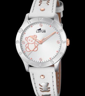 Reloj Lotus Niña Osito Correa Piel