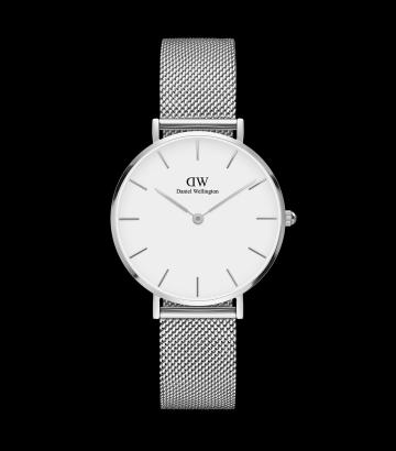 Reloj Daniel Wellington Classic Petite Black Melrose RG 32mm